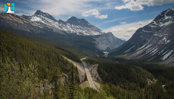 montanhas no canadá