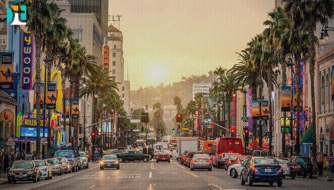 Los Angeles City - Rua de Los Angeles - Happy Tours!