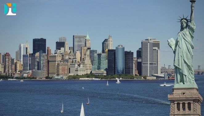 Nova York-city-estatua da liberdade