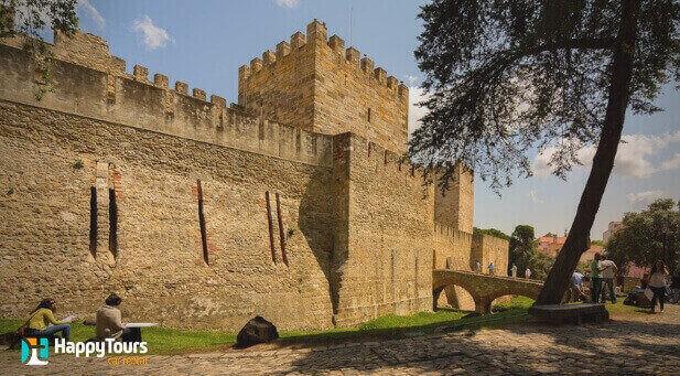 Castelo de São Jorge em Lisboa Portugal