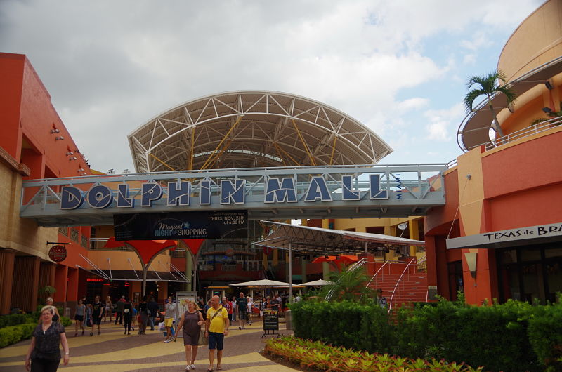 shopping dolhpin mall - Miami - Happy Tours