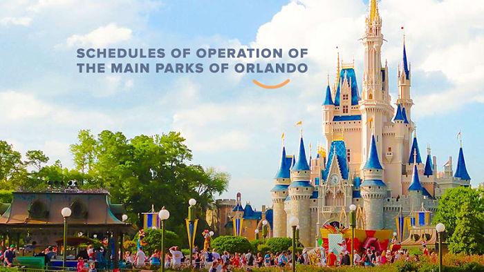 Disney world - Orlando - horários de funcionamento - Happy Tours