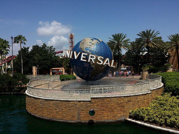 foto da logomarca da universal