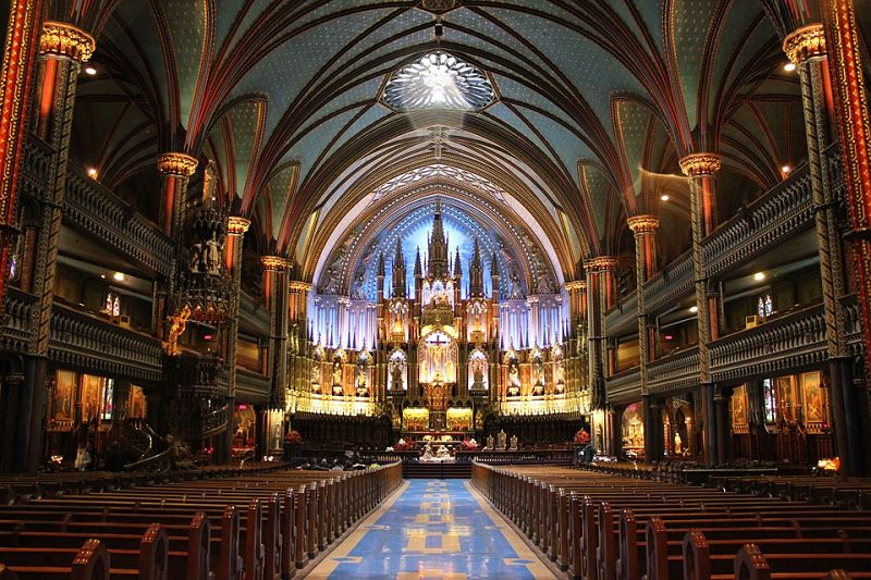 catedrald e notre dame no Canada - Happy Tours