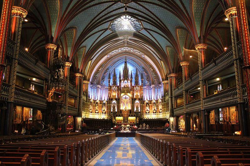 catedrald e notre dame no Canada - Happy Tours