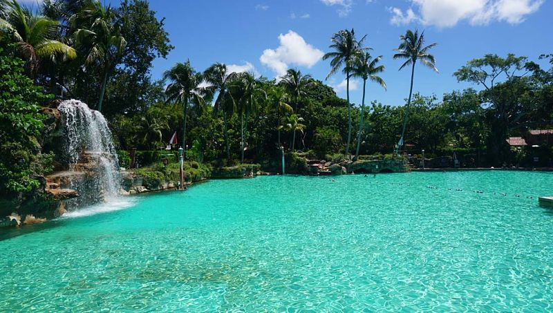 Piscina veneziana de Miami de Coral Gables