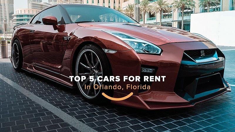 top 5 carros para alugar em Orlando