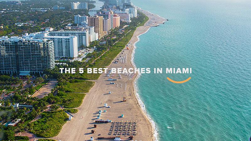 5 melhores praias de miami