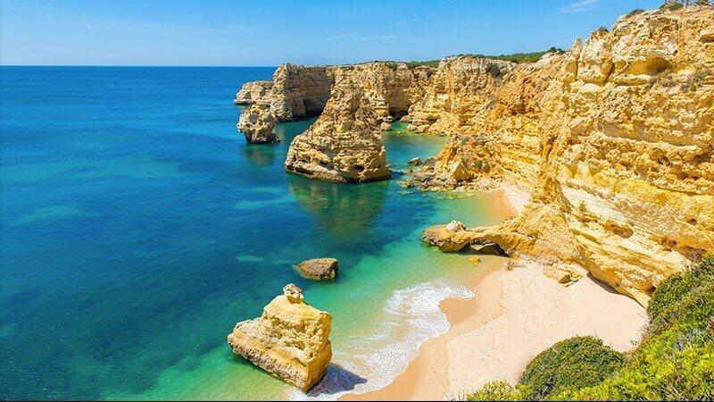 Portugal praia da Marinha