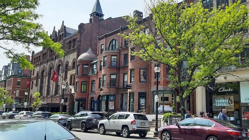 prédios antigos em boston
