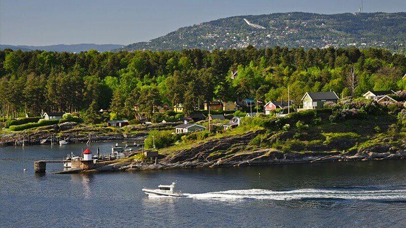 Noruega baía do Fiorde