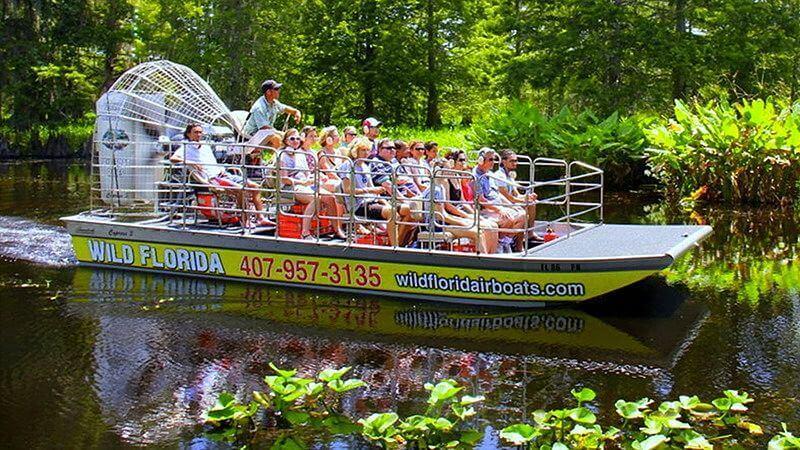 Orlando will Flórida gator park