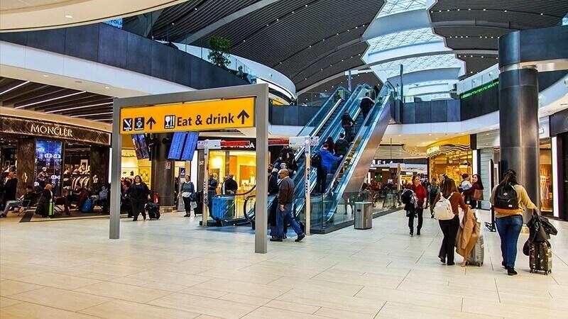 aeroporto internacional despacho de bagagens